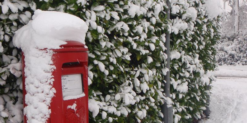 Royal Mail recommended last posting dates